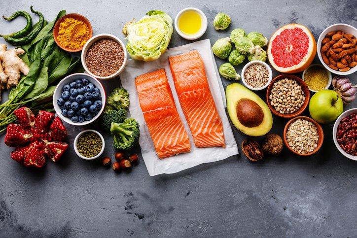 ประโยชน์ต่อสุขภาพของอาหารหลัก 5 หมู่